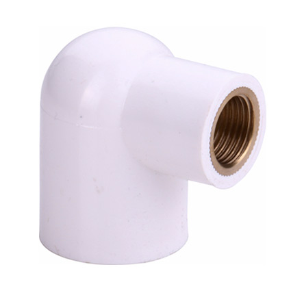 UPVC Reducer Brass Elbow